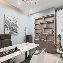 蓝白色美集储物架设计