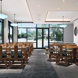 老年食堂 餐厅 中式 原木 舒适_3560496