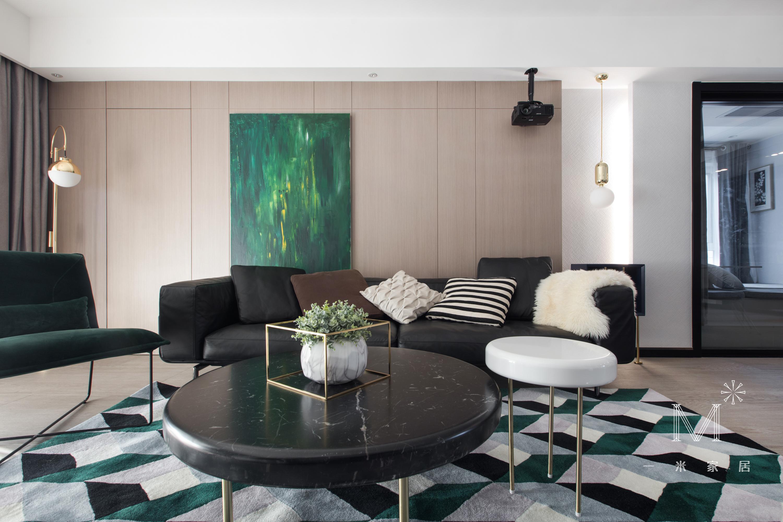 浪漫69平现代二居设计案例客厅现代简约客厅设计图片赏析