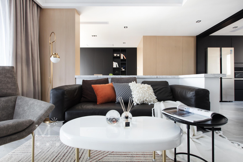 优雅200平LOFT二居装潢图客厅潮流混搭客厅设计图片赏析