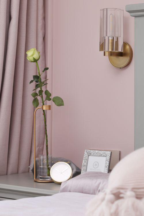 简洁51平现代二居卧室实景图片卧室床头柜