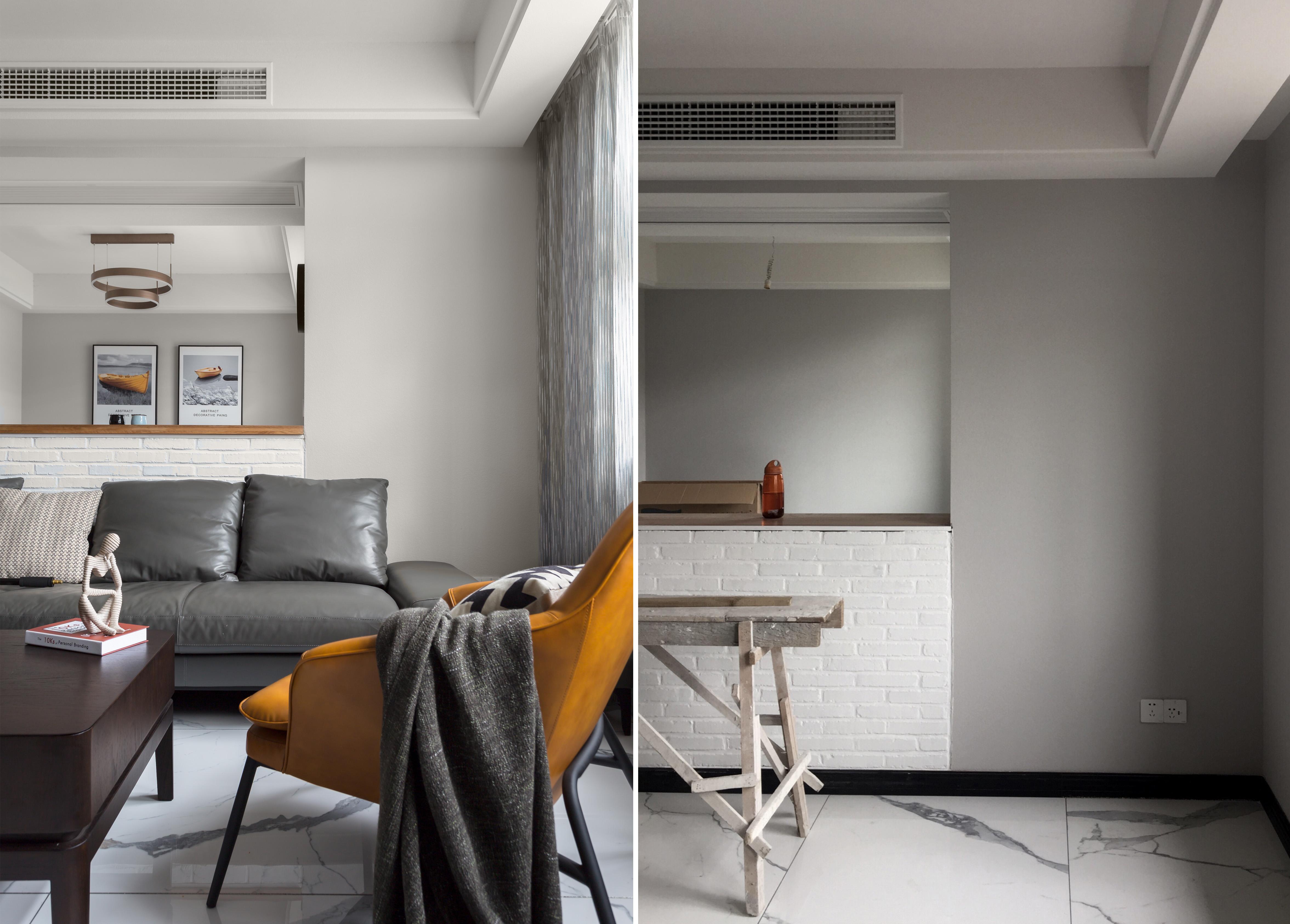 顶楼复式住宅,这户型堪比别墅客厅现代简约客厅设计图片赏析