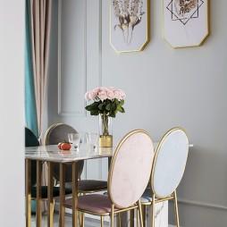 半糖暖居美式風餐廳裝飾畫設計