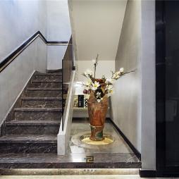 清幽现代楼梯实景图片