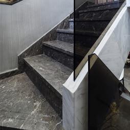 清幽现代楼梯实景图