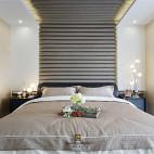 清幽现代卧室实景设计