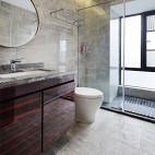 清幽现代卫浴实景图片