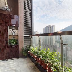 清幽现代阳台设计图