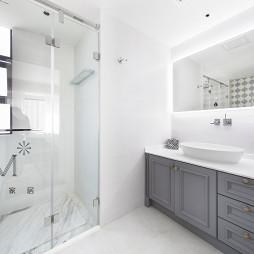 130㎡低奢美式卫浴设计