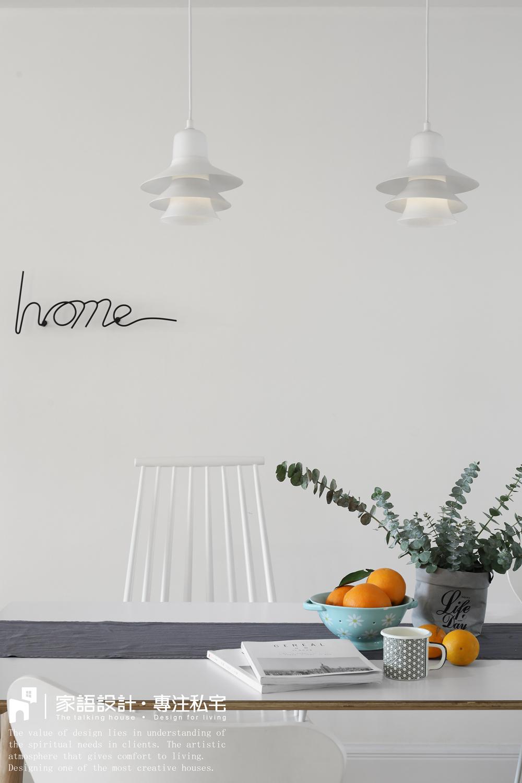 精致112平北欧三居客厅装饰图厨房北欧极简餐厅设计图片赏析
