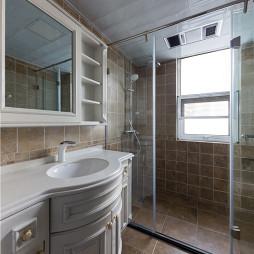 《芳华》美式三居卫浴设计图