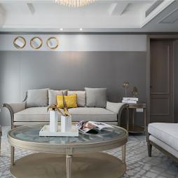 优雅浪漫客厅沙发图