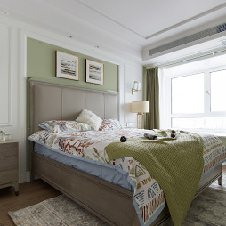Modern Times 美式住宅卧室设计图
