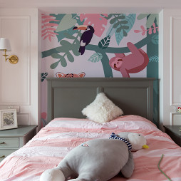 Modern Times 美式住宅儿童房设计实景图