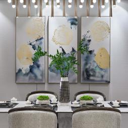 清幽雅静售楼处餐厅吊灯图片