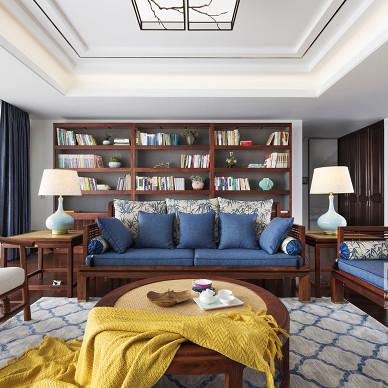锦绣中式客厅沙发图片