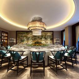 曼晶酒店-餐厅VIP包间设计_3569877
