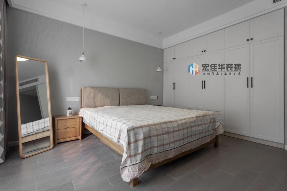 温馨简约风卧室衣柜设计卧室衣柜现代简约卧室设计图片赏析