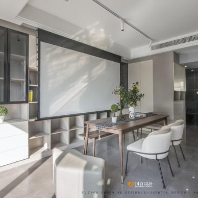 简约复式客厅设计实景图