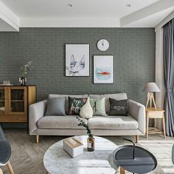 『SWEET HOME』北欧风客厅储物柜设计