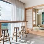 四居中式风格小吧台设计图