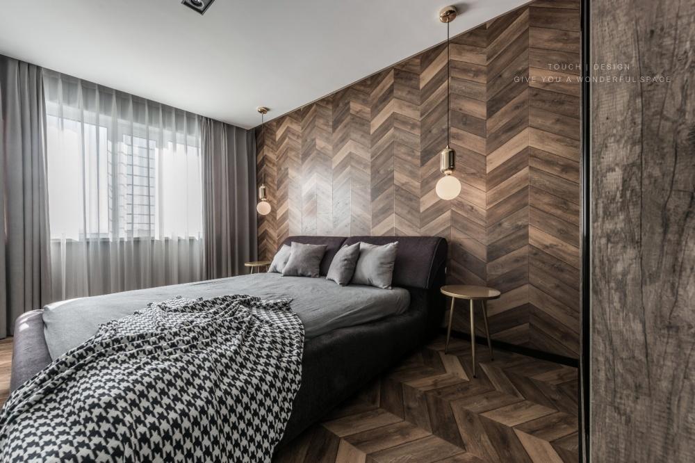 二居简约风主卧设计图卧室现代简约卧室设计图片赏析