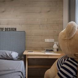 时尚北欧风儿童房设计图