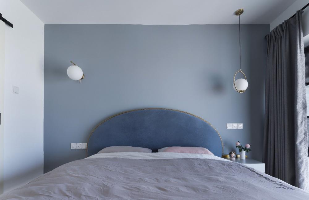 小复式北欧风主卧室设计图卧室北欧极简卧室设计图片赏析