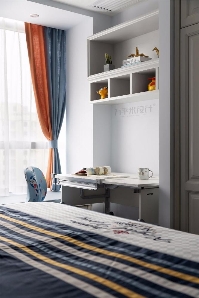 MissCoco美式儿童房书桌设计卧室美式经典卧室设计图片赏析