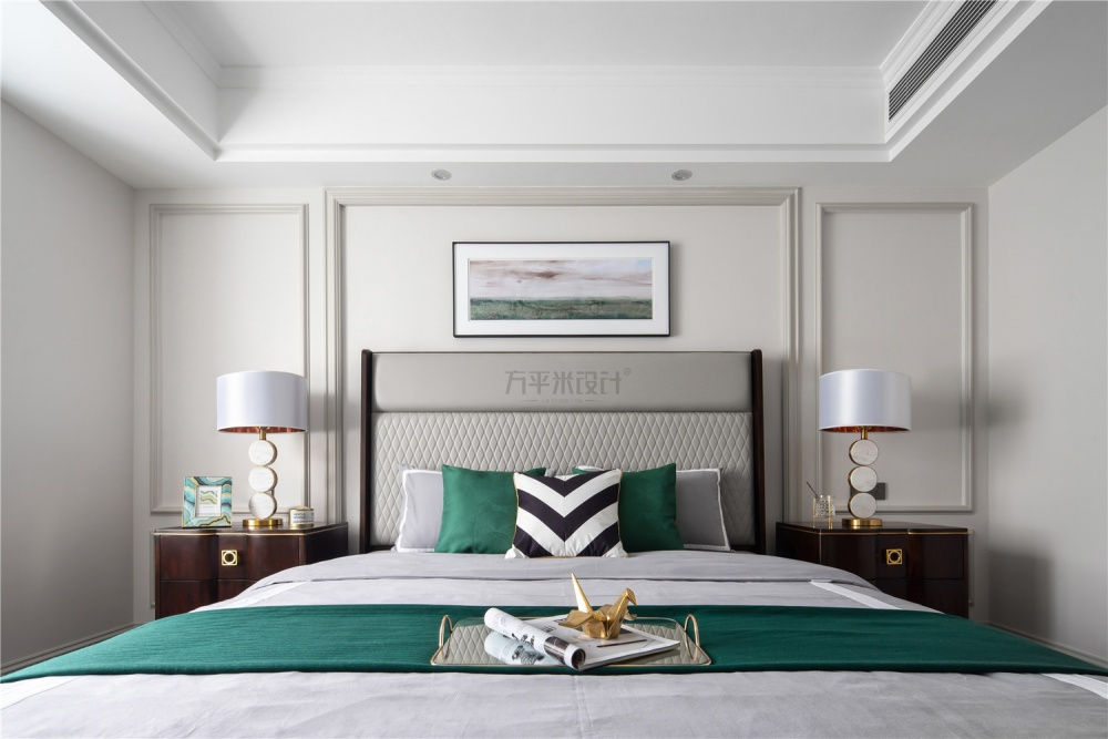 MissCoco美式卧室床头灯图卧室美式经典卧室设计图片赏析