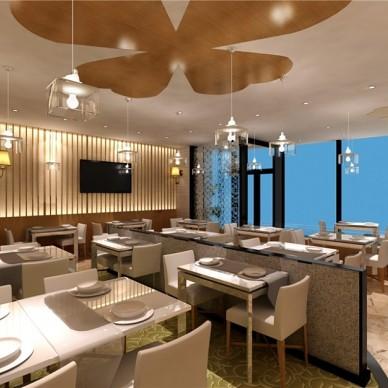 北京望京硒游记生态餐厅设计项目_3578205