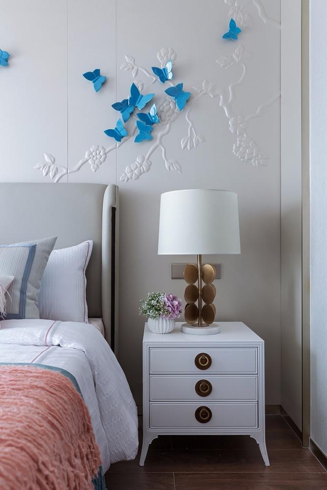 雅奢东方中式卧室床头柜设计图卧室床头柜2图中式现代卧室设计图片赏析