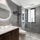 140㎡优雅中式卫浴实景图