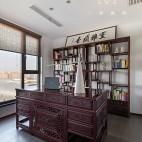 140㎡优雅中式书房设计图片