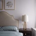 细致美式风卧室床头柜设计