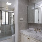 细致美式风卫浴设计图