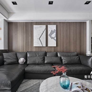 现代简约风客厅沙发图