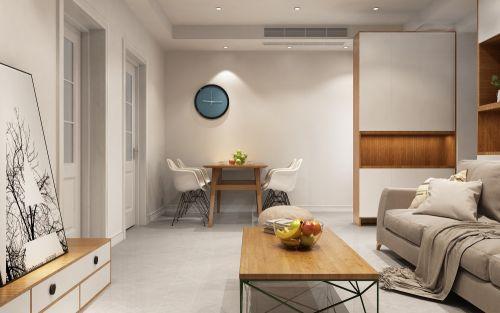 《西北工业大学》教师公寓厨房沙发60m²以下二居家装装修案例效果图