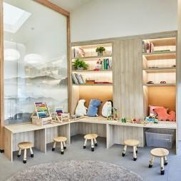 奥园中医广州萝岗店儿童阅读区设计