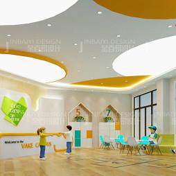 幼儿园设计的接待大厅设计_3584626