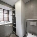 混搭风卫浴设计实景图片