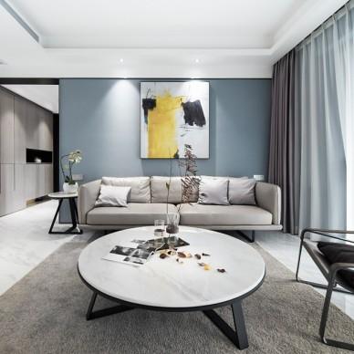 简约 • 灰有度客厅设计图片
