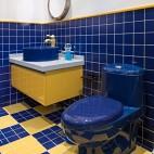 温哥华森林别墅儿童房卫浴设计