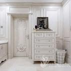 法式风格别墅卫浴实景图