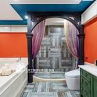 法式风格别墅卫浴设计图片