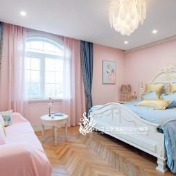 法式风格别墅儿童房设计图