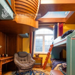 法式风格别墅儿童房图片