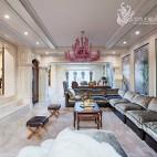 法式风格别墅娱乐休闲区设计
