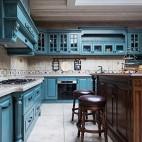 法式风格别墅厨房设计图