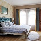 温情美式风卧室设计图
